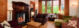 Lounge in our Pitlochry bed and breakfast