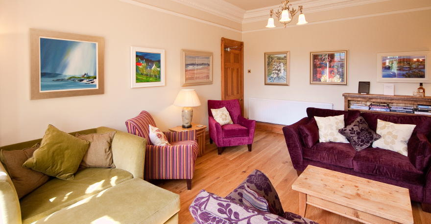Pitlochry guest house - lounge at Torrdarach House